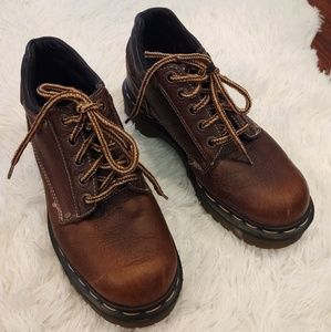 Dr Martens Air Wair Brown Ankle Boots